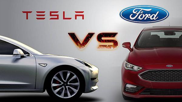 Tesla Vs Ford Motor Company